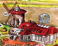 Карта ресторанного комплекса