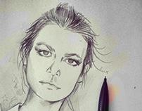 Woman 's portrait
