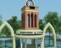 Khartoum Un 3d gate