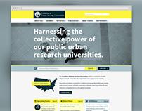 Website for Coalition of Urban Serving Universities