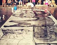 JAZOO Yang Live Painting@Sea Art Festival 2013