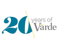 Värde - Anniversary logo