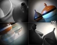 Product design: Stone Vases