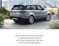 Range Rover Sport 2014 Launch