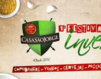 Festival de Inverno - Casa São Jorge Empório.