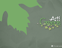 Artigreens - Website Design/Brochure/Emailer