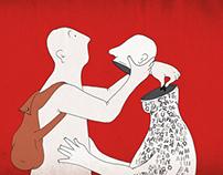 Nurant magazine illustrations