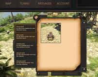Tribewars game layout