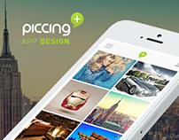 Piccing Mobile App