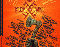 Kilkim Zaibu, heavy metal and folk music festival