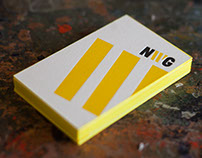 LETTERPRESS 4 COLOR BUSINESS CARD