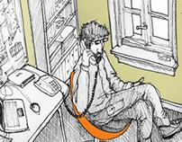 """""""La balsa del Sapo"""" Illustrations by AGP"""