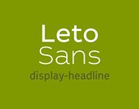 Leto Sans