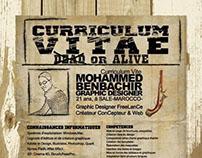 "créatif Curriculum vitae ""WANTED"""