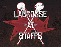 Staffordshire Uni - Lacrosse Poster
