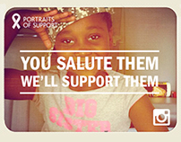Bank Of America Troop Thanks - Portraits of Support