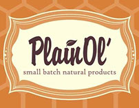 Plain Ol' Small Batch Natural Products