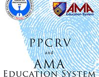 PPCRV and AMA partnership tarpaulin - Election 2013