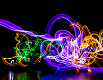 Light Graffiti with Cierra Potts Dance and Movement