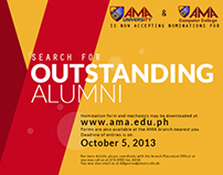 Search for Outstanding Alumni
