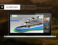 Seabourn Website Concept (academic)