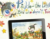 Pickle - The Little Bird Who Doesn't Tweet Web-site!