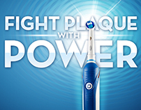 Oral-B Power Brush Landing Page