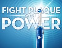 Oral-B Power Brush Landing Page