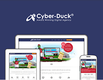 Cyber-Duck - Responsive Web Design
