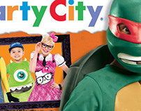 Large Postcard for Party City Franchise