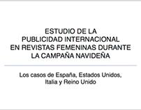 Publicidad internacional en revistas femeninas