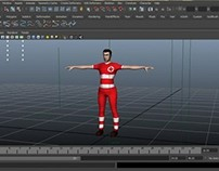 3D Character design & animation
