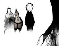 Silêncio e Sombras (Silence and Shadows): estudos