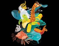 Fluid Animals 2014 Calendar
