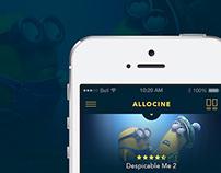 AlloCine, App Concept