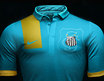 Santos Futebol Clube Nike 3rd Jersey 2014