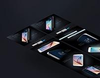 Samsung Galaxy S6 Landing Page