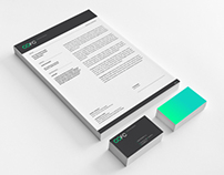 Stationery design for chemical company