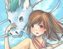 Anime Illustration Collection May 2013