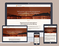 Real Estate Responsive web design