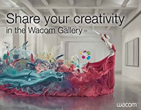 Wacom Gallery Project of the Day Sweepstakes