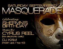 masquerade party design