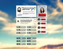 GoBeautyGirl — Contest Promotion Platform Ui/Ux