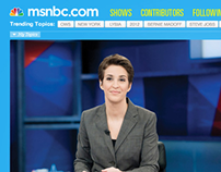 MSNBC Redesign Pitch