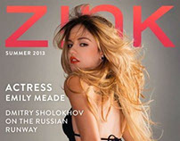 Z!NK MAGAZINE / JUNE 2013 REDESIGN