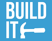 Build It | Flat Inspirational Poster