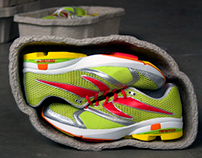 Newton Running - branding, packaging, website