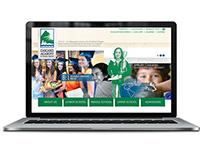 Cascades Academy - website UI