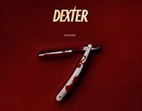 Dexter season 7 fan art poster