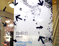 TBD Loft Gallery - interactive banners